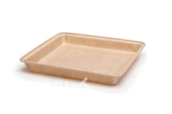 Paper form-square for food Finger food