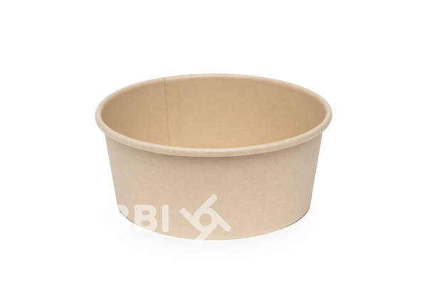 Paper form salad Salad bowls Take-away